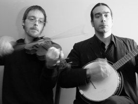 Casey Abair (fiddle) & Hunter Robertson (banjo)